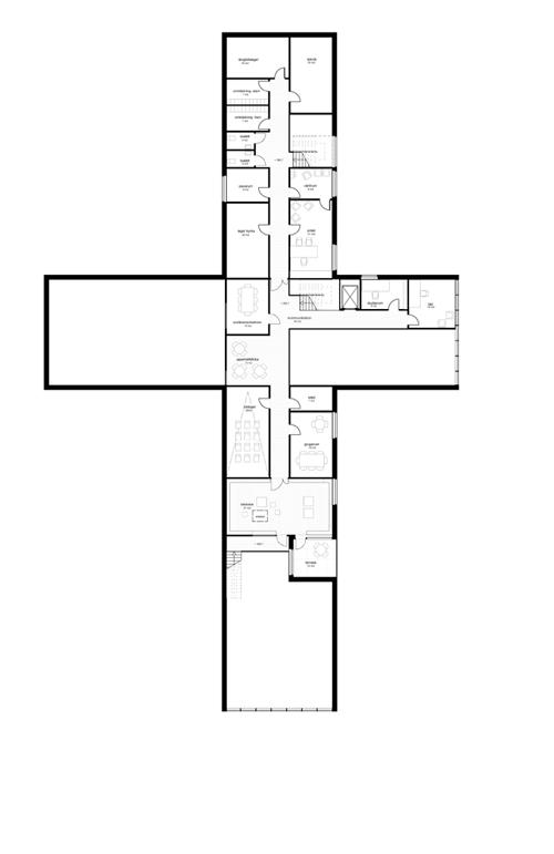 pilgrimscenter röldal plan 2
